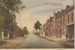 EEKLO - EECLOO ; Gentschesteenweg - Chaussée De Gand - RARE CPA - Cachet De La Poste 1937 - Eeklo