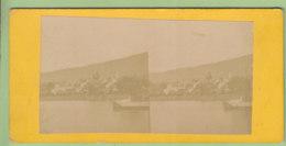 VEVEY ( Canton De Vaud ) Vers 1860 - 1870  Photo Stéréoscopique. 2 Scans. - Stereoscopic