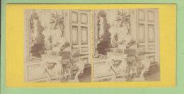 Palais De VERSAILLES Vers 1860 - 1870  Photo Stéréoscopique. 2 Scans. - Stereoscopic
