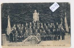 CPA 13172 -67 - Strasbourg -Robertsau - Harmonie Caecilia  Au Concours à Paris En 1906 ( Petits Défauts) - Strasbourg