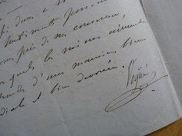 Marquis De VOGUE - Autographes