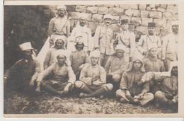 Militaria 1927 Mandat Français En Syrie Groupe De Gradés Tous Nommés Carte-photo - Guerres - Autres