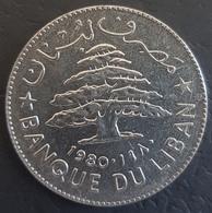 HX - Lebanon 1980 1 Livre Coin - Liban