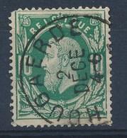 """Nr 30 - Cachet  """"HOUGAERDE"""" - Ronde Hoek/coin Arrondi - (ref. ST-1054) - 1869-1883 Léopold II"""