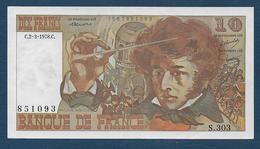 BILLET De  10 F  Du  2 - 3 - 1978 - 10 F 1972-1978 ''Berlioz''