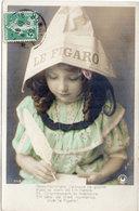 """Enfant Et Chapeau Journal """"Le Figaro""""  Ecriture - Photo H. Manuel    (110018) - Scènes & Paysages"""
