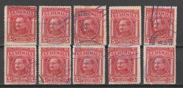 MiNr. 225 Guatemala / 1929, 7. Jan. Freimarken: Nationale Symbole. Wertangabe Jetzt In Quetzal-Währung. Leicht Verändert - Guatemala