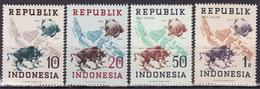 INDONESIA - POS UDARA - UPU - 1949 - Mi 179-182  MNH** VF - U.P.U.