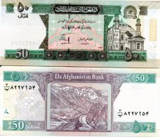 AFGHANISTAN 50 Afghanis (SH1389/2010) New Signature, New Date **UNC** - Afghanistan