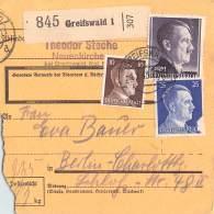 Paketkarte Greifswald -4.1.42.-13 - Deutschland