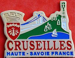 HH 206.......ECUSSON........CRUSEILLES..........département De La Haute-Savoie En Région Auvergne-Rhône-Alpes.... - Villes