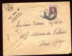 Enveloppe De Paris Pour Paris En 1944 - N205 - Marcophilie (Lettres)