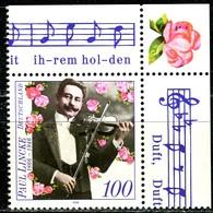 A12-43-4) BRD - Mi 1876 ECKE REO - ** Postfrisch (A) - 100Pf  Paul Lincke - Unused Stamps