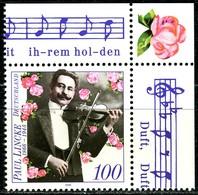A12-43-4) BRD - Mi 1876 ECKE REO - ** Postfrisch (B) - 100Pf  Paul Lincke - Unused Stamps