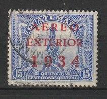 MiNr. 274 Guatemala / 1934, 7. Aug. Flugpostmarken Für Den Auslandsverkehr. MiNr. 225 Und 227 Mit Dreizeiligem Aufdruck - Guatemala