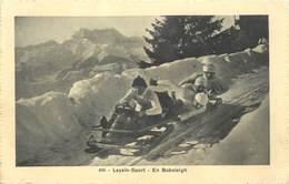 LEYSIN - Sport En Bobsleighs. - VD Vaud