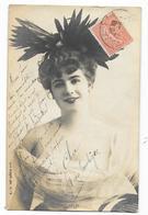Cpa: TEMPLEY - Artiste - (Mode, Chapeau) S.I.P. 42 Eme Série N° 1  190? - Artisti