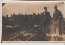 Militaria 1926 Mandat Français En SYRIE DAMAS Cimetière D'EZRAA Capitaine REUILLY  Lieutenant  Louis DUHEM Carte-photo - Andere Oorlogen