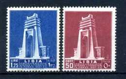 1937 LIBIA SET * 140/141 - Libye
