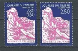 """FR YT 2990 & 2991 """" Journée Du Timbre """" 1996 Neuf** - France"""