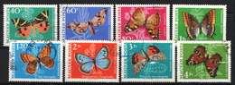 Hungary 1969. Animals / Butterfly Nice Set, Used - Farfalle