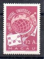 Serie De Macao UPU N ºYvert 337 (**). VALOR CATÁLOGO 60.0€ - Nuevos