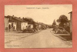 CPA - VOMECOURT (88) - Aspect De La Grande-Rue En 1938 - France