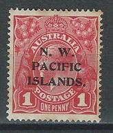New Guinea SG 67b,  Mi 2 I/III * MH Type B - Papouasie-Nouvelle-Guinée
