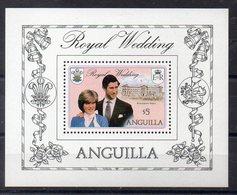 ANGUILLA  Timbre Neuf ** De 1981  ( Ref 5821 ) Famille Royale  - Lady Diana - Anguilla (1968-...)