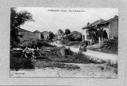 CPA - VOMECOURT (88) - Aspect De La Rue De Rambervillers En 1923 - France