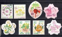 Japan 2017 - Greetings-Spring (52 & 82  Yens) - Used Stamps