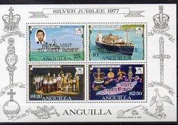ANGUILLA  Timbres Neufs **  De 1977  ( Ref 5822 ) Famille Royale  - Visite- Surchargés - Anguilla (1968-...)
