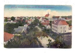 0-8291 PANSCHWITZ - KUCKAU, Strassenpartie, Im Hintergrund Das Kloster, 1916, Am Unterrand Unsauber Geschnitten - Panschwitz-Kuckau