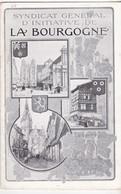 Syndicat General D' Iniciative De La Bourgogne - N°8 -annexe Plan Profil D' Un Itinéraire -  Avril 1907 - Vieux Papiers