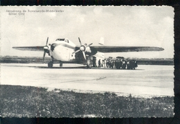 Belgie - Aerodome De Raverseyde Middelkerke - Silver City - Vliegtuig  - 1958 - België