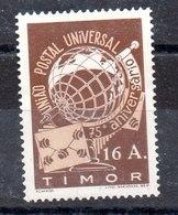 Serie De Timor UPU Nº Yvert 264 (**) - Timor