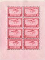 Congo PA 0008** Petit Panneau De 8 Timbres - Carnets