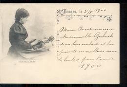 Belgie - Bruges Brugge - Dentelliere - - -  1900 - België