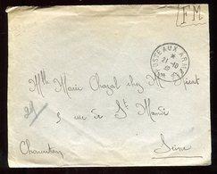 Enveloppe En FM Pour Charenton En 1939 - N218 - Marcophilie (Lettres)