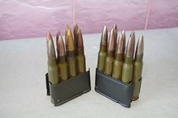 DEUX CHARGEURS DE FUSIL GARAND USM1 - Decorative Weapons