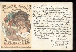 Belgie - Brussel - Salon Des Arts Metiries - Exposition -    1905 - België