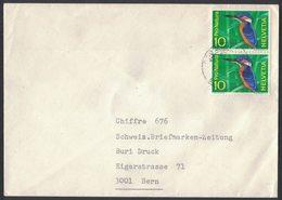 TY186   Switzerland Suisse Cover 1967 Pro Natura - Storia Postale