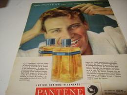 ANCIENNE PUBLICITE UN AUTRE HOMME LES BEAUX CHEVEUX DE PANTENE 1959 - Other