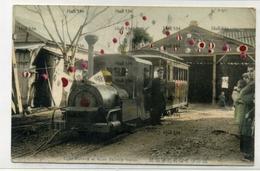 Japan Narrow Gauge Railway Light Railway At Atami Railway Station 1900s Postcard Shizuoka - Japan