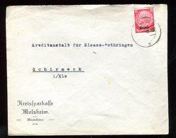 Enveloppe Commerciale De Molsheim Pour Schirmeck En 1940 - N226 - Marcofilia (sobres)