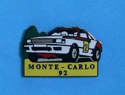 1 PIN'S //   ** MONTE CARLO '92 / TOYOTA CELICA TURBO 4WD ** - Toyota