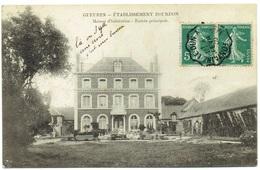 CPA - 76 - GUEURES - Etablissement Bourdon - Fabrication De Cierges - Usine - Industrie - Maison D'habitation - Dieppe