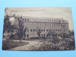 Pensionnat St. Bernard - AUDREGNIES ( E & B ) Anno 19?? ( Voir Photo ) ! - Quiévrain