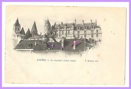 CPA - LOCHES - LE CHÂTEAU - VUE COTÉ NORD (37 Indre Et Loire) - Loches