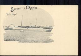 Belgie - Ostende Oostende - Yacht Royal - Boot Schip  - 1900 - België